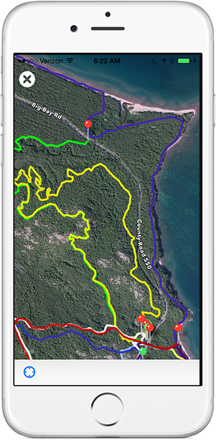 Marquette Trails iPhone App